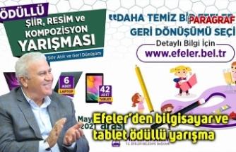 Efeler'den bilgisayar ve tablet ödüllü yarışma