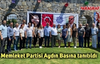 Memleket Partisi Aydın Basına tanıtıldı