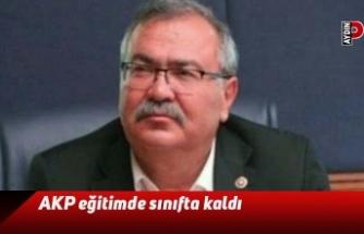 AKP eğitimde sınıfta kaldı