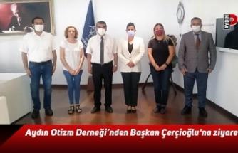 Aydın Otizm Derneği'nden Başkan Çerçioğlu'na ziyaret