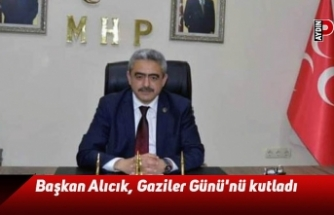 Başkan Alıcık, Gaziler Günü'nü kutladı