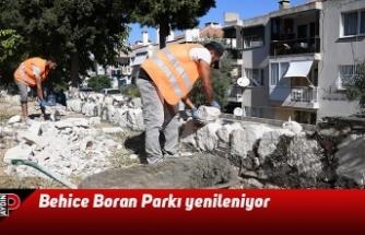 Behice Boran Parkı yenileniyor