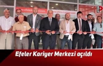 Efeler Kariyer Merkezi açıldı