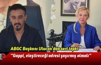 ABGC Başkanı Ulucan: Gappi, eleştireceği adresi şaşırmış olmalı