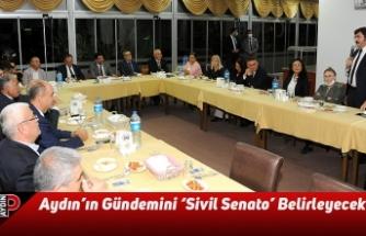 Aydın'ın Gündemini 'Sivil Senato' Belirleyecek