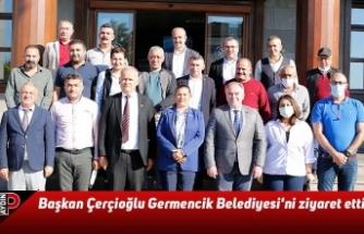 Başkan Çerçioğlu Germencik Belediyesi'ni ziyaret etti