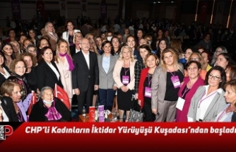 CHP'li Kadınların İktidar Yürüyüşü Kuşadası'ndan başladı