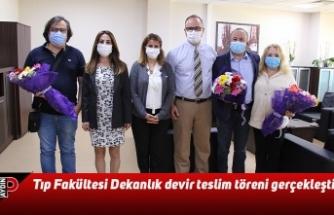Tıp Fakültesi Dekanlık devir teslim töreni gerçekleşti