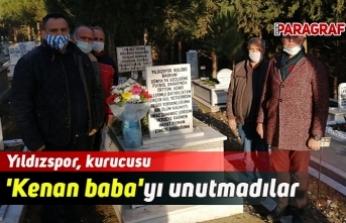 Yıldızspor, kurucusu 'Kenan baba'yı unutmadılar