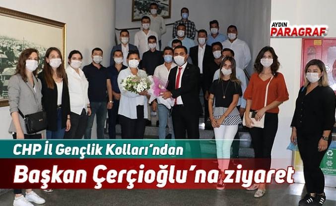 CHP İl Gençlik Kolları'ndan Başkan Çerçioğlu'na ziyaret