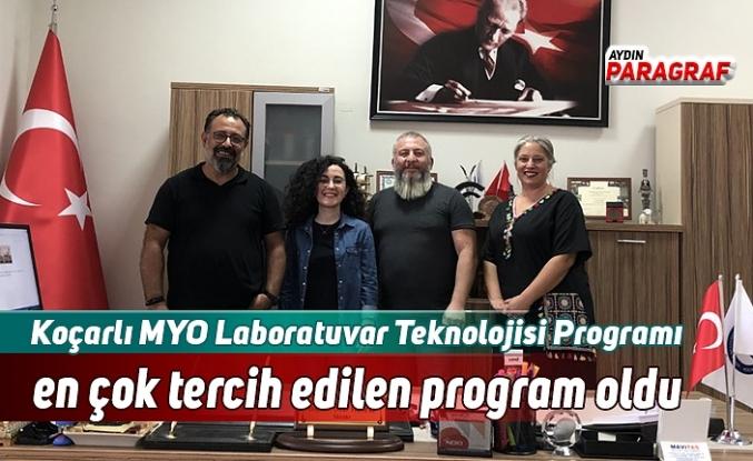 Koçarlı MYO Laboratuvar Teknolojisi Programı en çok tercih edilen program oldu
