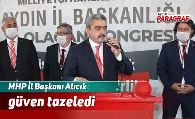 MHP İl Başkanı Alıcık güven tazeledi