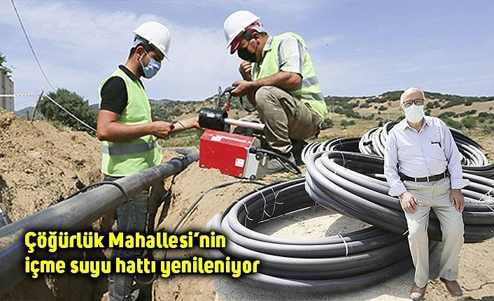 Çöğürlük Mahallesi'nin içme suyu hattı yenileniyor