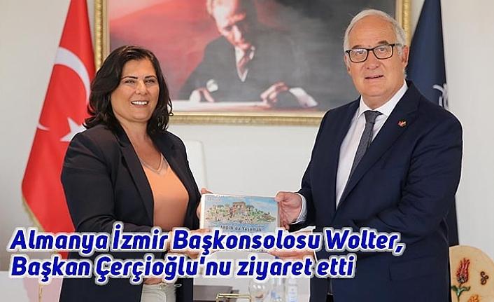 Almanya İzmir Başkonsolosu Wolter, Başkan Çerçioğlu'nu ziyaret etti