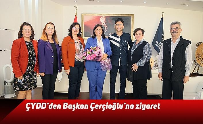 ÇYDD'den Başkan Çerçioğlu'na ziyaret