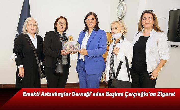 Emekli Astsubaylar Derneği'nden Başkan Çerçioğlu'na Ziyaret