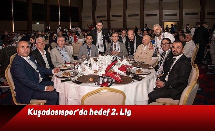 Kuşadasıspor'da hedef 2. Lig