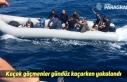Kaçak göçmenler gündüz kaçarken yakalandı