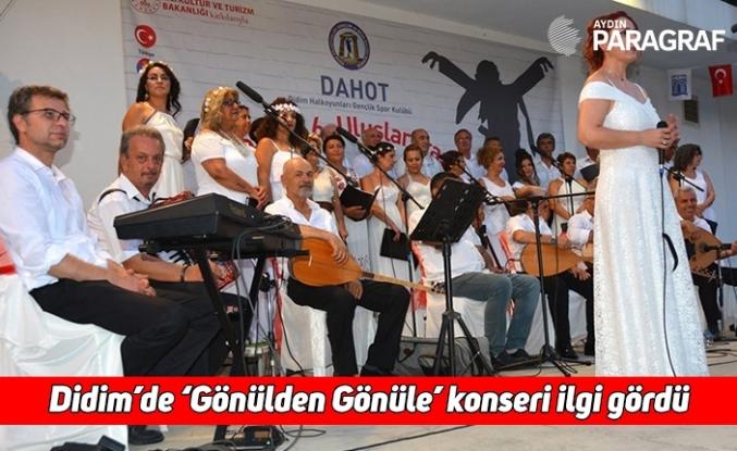 Didim'de 'Gönülden Gönüle' konseri ilgi gördü