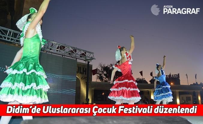 Didim'de Uluslararası Çocuk Festivali düzenlendi