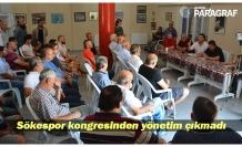 Sökespor kongresinden yönetim çıkmadı