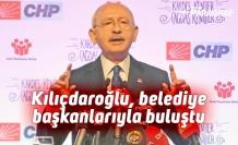 Kılıçdaroğlu, belediye başkanlarıyla buluştu