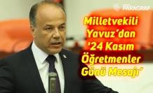 Milletvekili Yavuz'dan '24 Kasım Öğretmenler Günü Mesajı'