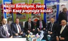 Nazilli Belediyesi, fuara Naz- Koop projesiyle katıldı