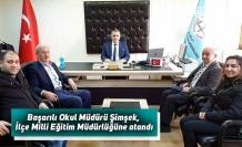 Başarılı Okul Müdürü Şimşek, İlçe Milli Eğitim Müdürlüğüne atandı