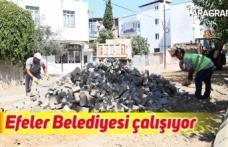 Efeler Belediyesi çalışıyor