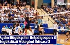 Vestel Venüs Sultanlar Ligi: Aydın Büyükşehir Belediyespor: 3 - Beylikdüzü Voleybol İhtisas: 0