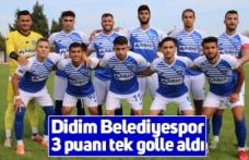 Didim Belediyespor 3 puanı tek golle aldı