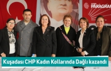 Kuşadası CHP Kadın Kollarında Dağlı kazandı