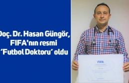 Doç. Dr. Hasan Güngör, FIFA'nın resmi 'Futbol Doktoru' oldu