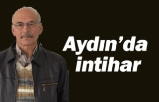 Aydın'da intihar