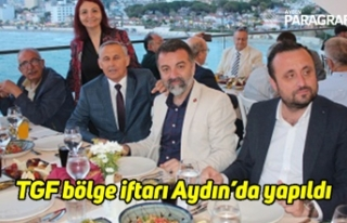 TGF bölge iftarı Aydın'da yapıldı