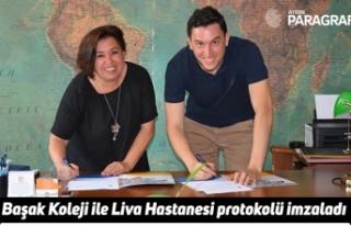 Başak Koleji ile Liva Hastanesi protokolü imzaladı