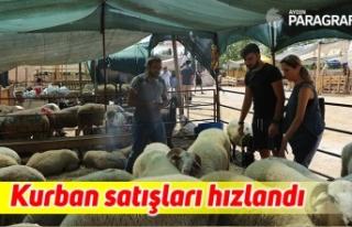 Arefe günü kurban satışları hızlandı