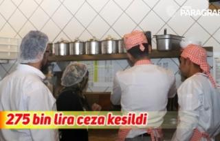 Aydın'da 30 gıda işletmesine 275 bin lira ceza...