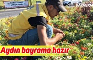 Büyükşehir Aydın'ı bayrama hazırladı