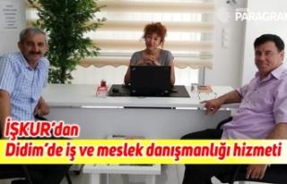 İŞKUR'dan Didim'de iş ve meslek danışmanlığı...