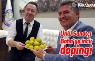 Ünlü Sanatçı Baha'ya incir dopingi