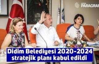 Didim Belediyesi 2020-2024 stratejik planı kabul...