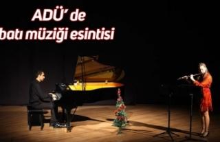 ADÜ' de batı müziği esintisi