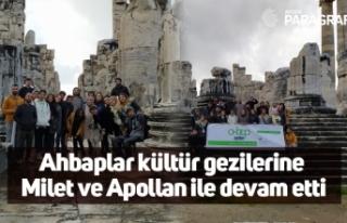 Ahbaplar kültür gezilerine Milet ve Apollan ile...