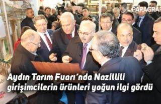 Aydın Tarım Fuarı'nda Nazillili girişimcilerin...