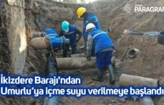 İkizdere Barajı'ndan Umurlu'ya içme suyu...