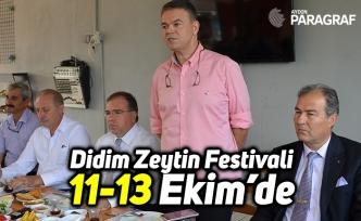 Didim Zeytin Festivali 11-13 Ekim'de