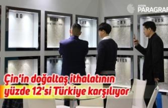 Çin'in doğaltaş ithalatının yüzde 12'si Türkiye karşılıyor