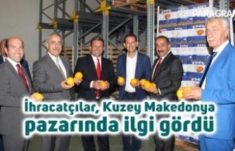 İhracatçılar, Kuzey Makedonya pazarında ilgi gördü